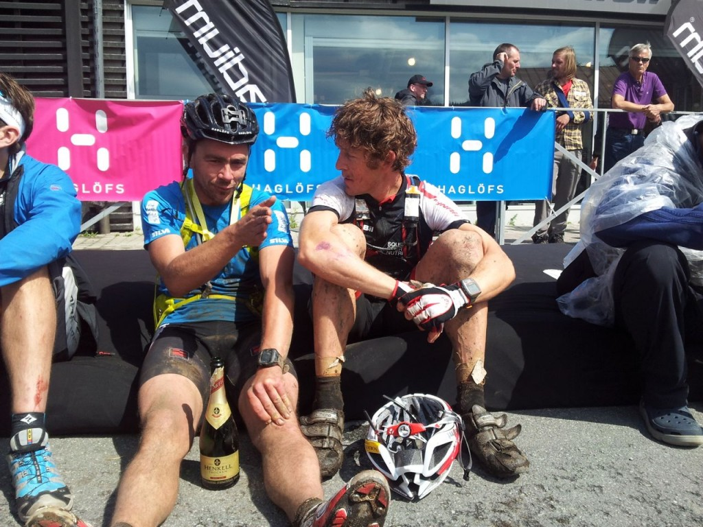 finish line björn and me hans pic