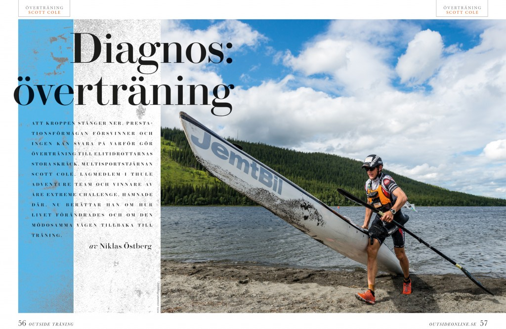 Outside overtraining first page